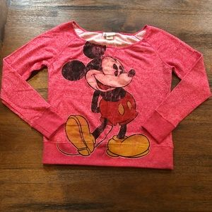 Disney parks Mickey Mouse sweatshirt size small